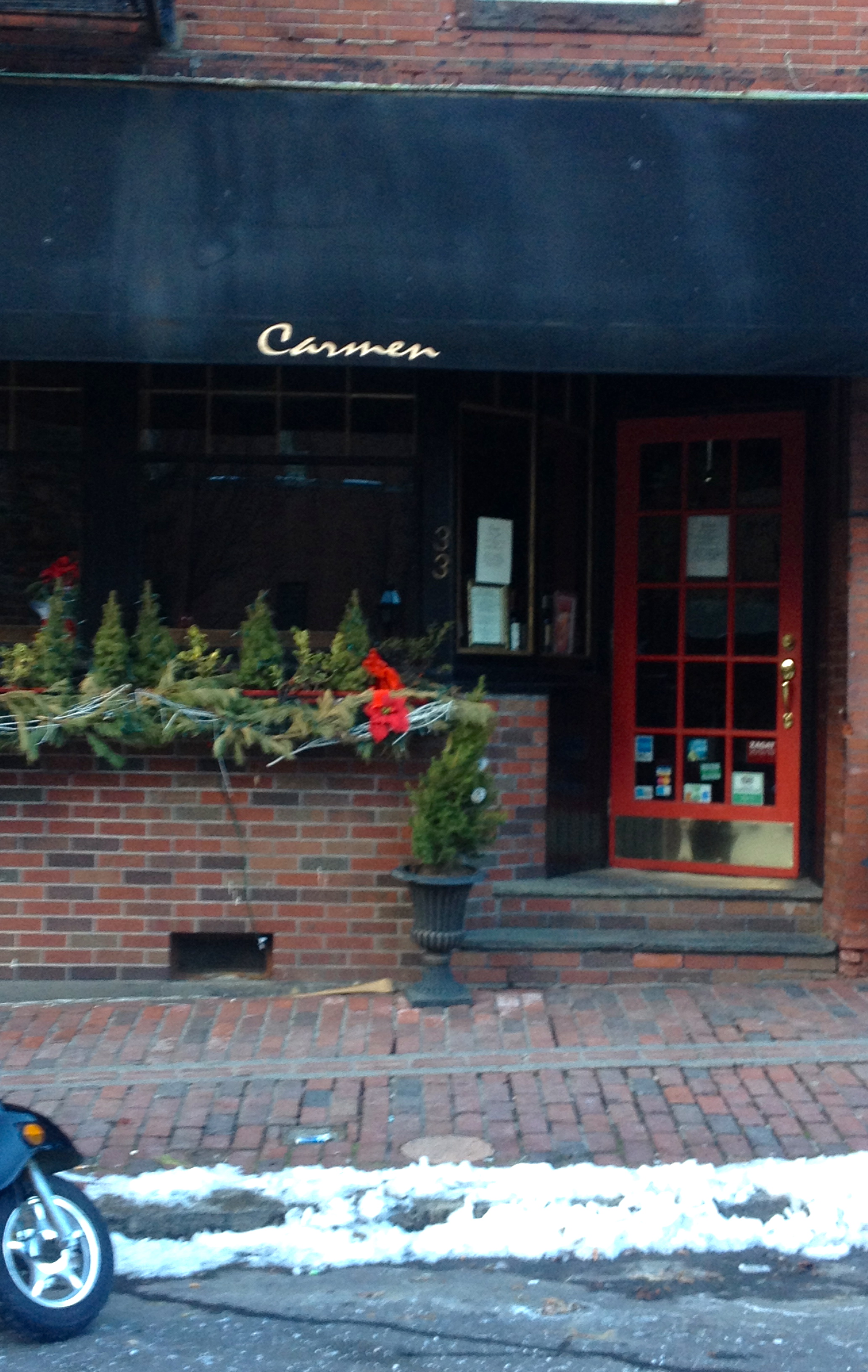 Carmen Restaurant North End Boston
