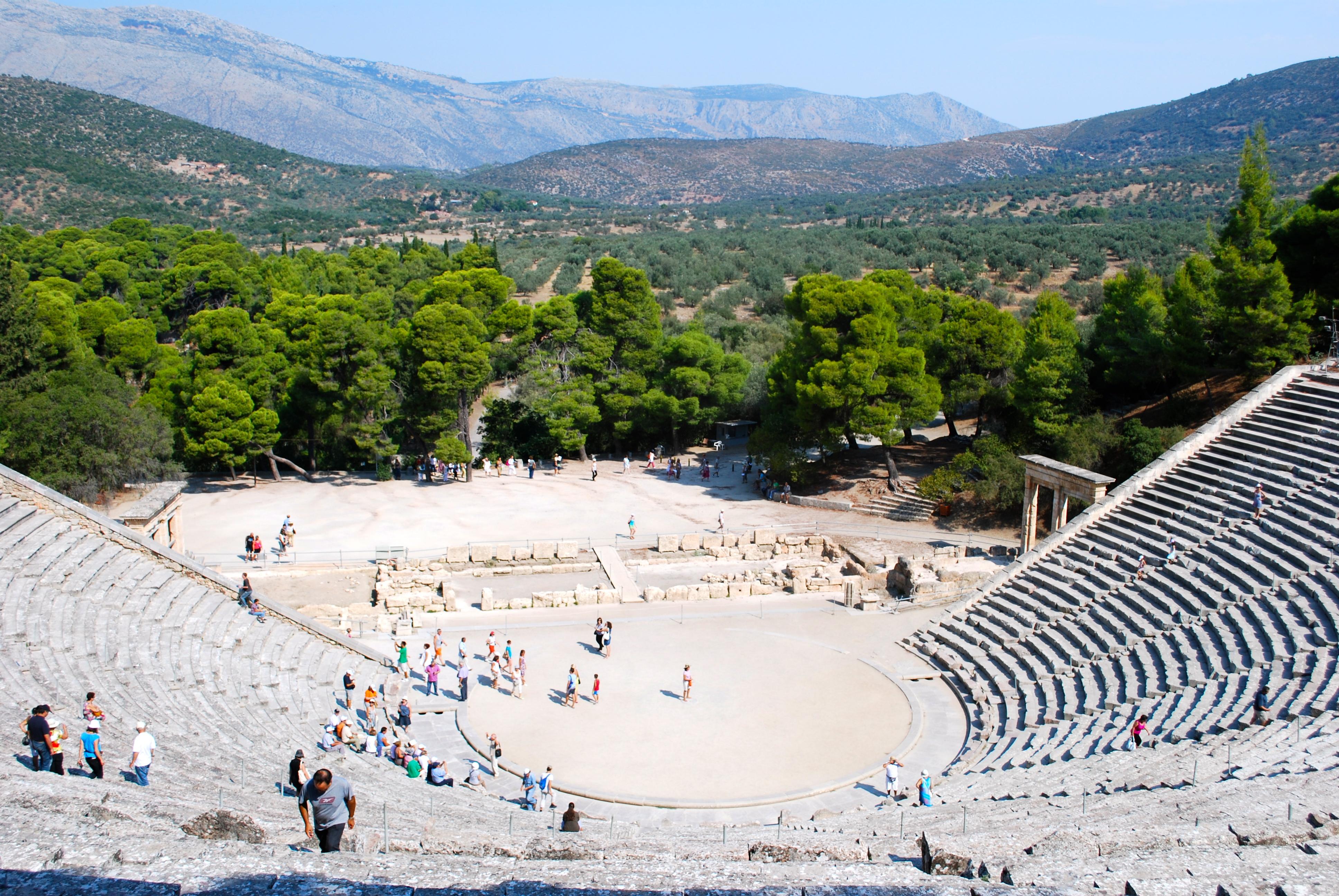 Epidavros Greek theater