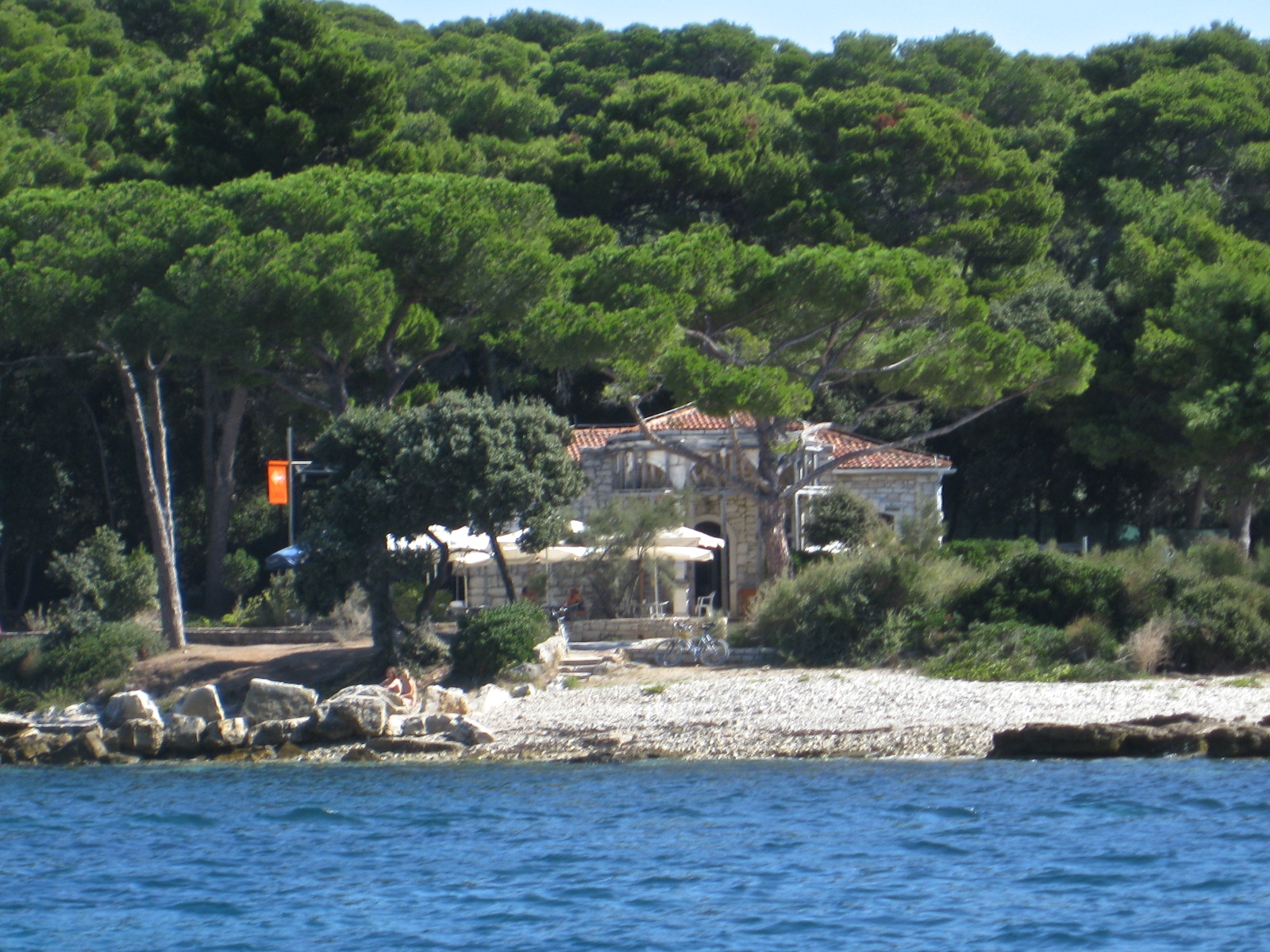 island near Rovinj, Croatia