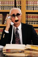 Spoof image of an attorney