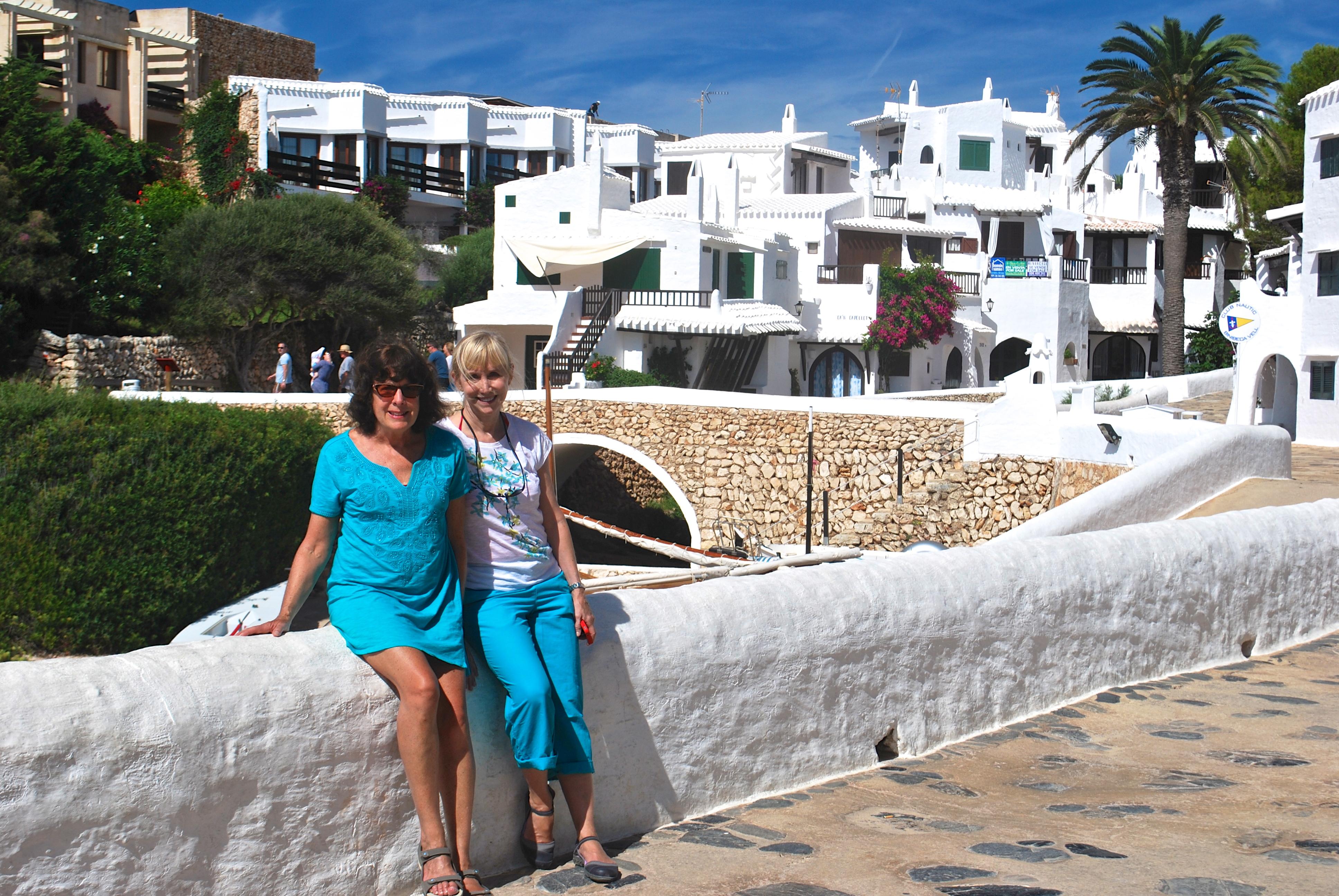Binibecca Vell Harbor, Menorca Spain