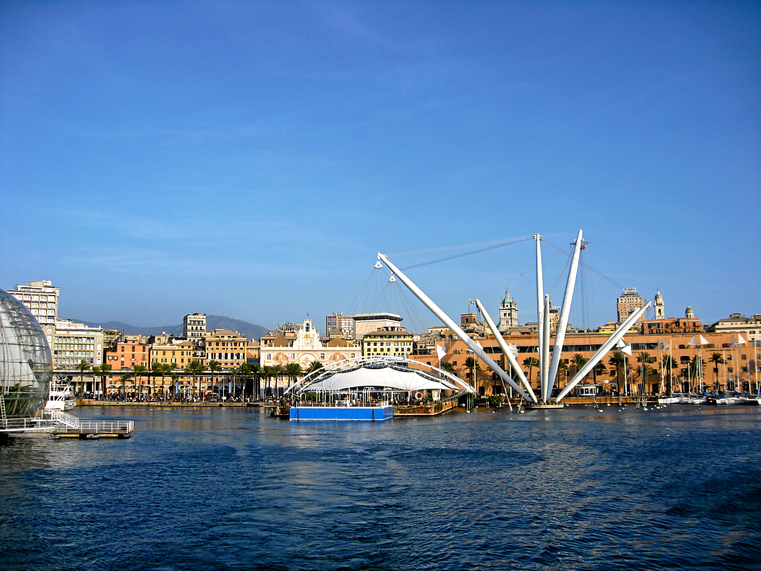 Genoa waterfront