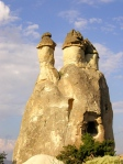 Fairy chimneys in Cappadocia, Turkey