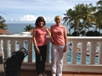 Blonde and Brunette women in Puerto Rico
