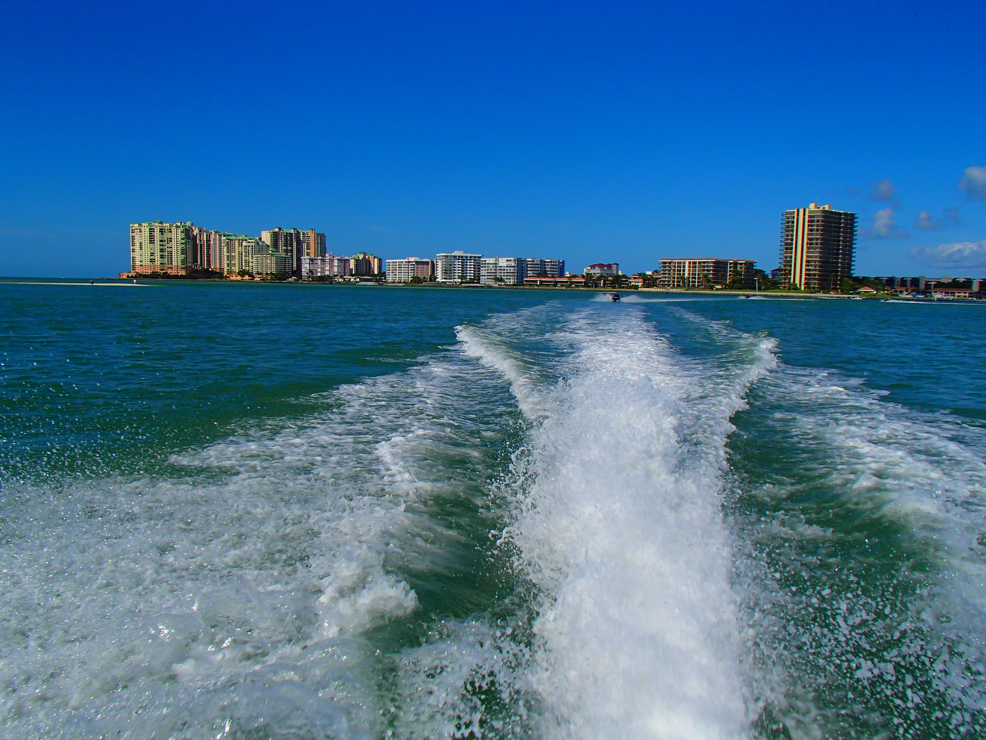 Marco Island seen from the water