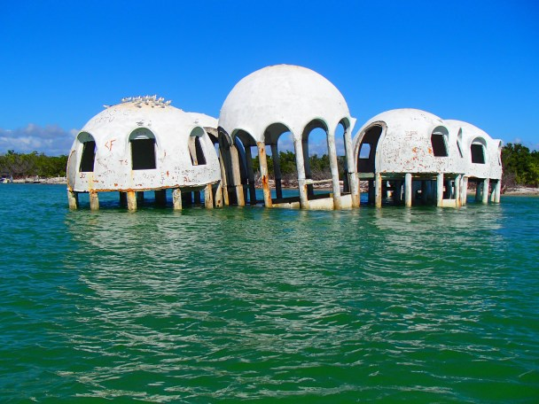"The ""Bubble house"" Cape Romano Florida"