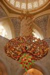 Chandelier in The Grand Mosque, Abu Dhabi