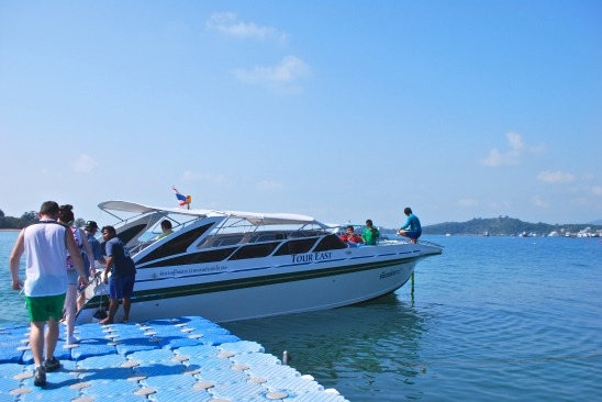 Boat we took to James Bond Island, Phuket, Thailand