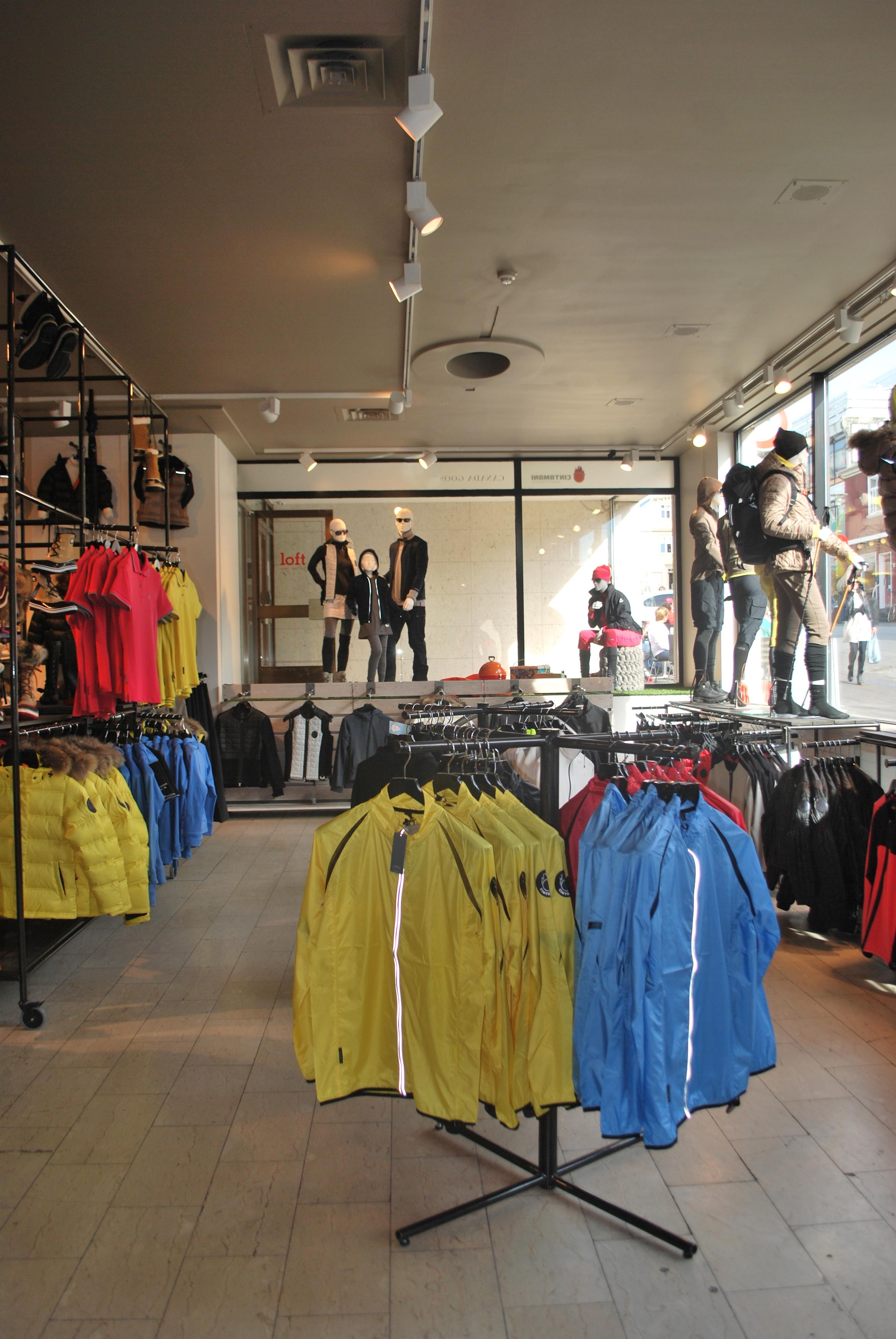 Cintamani store in Reykjavik