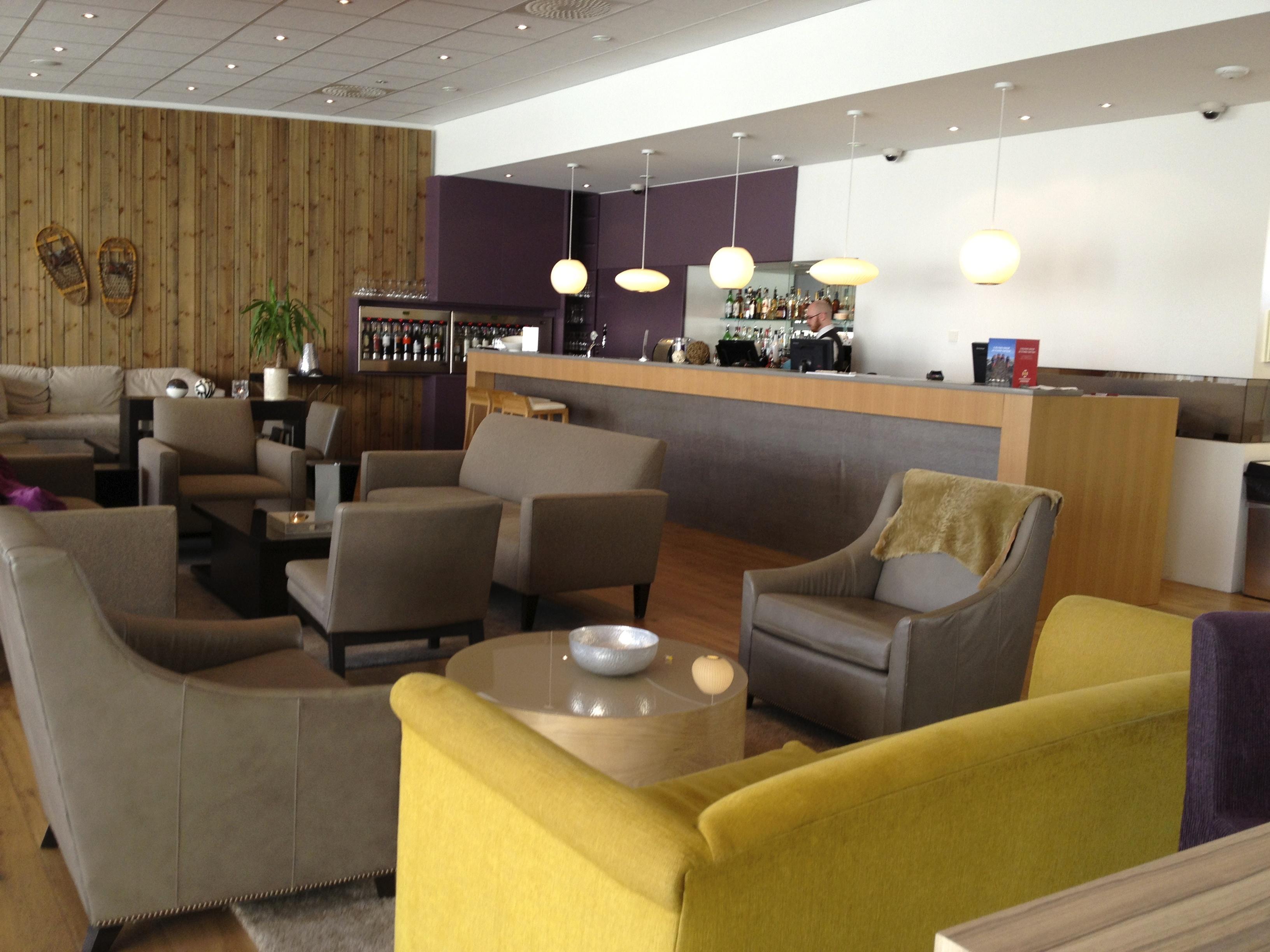 Lobby of IcelandAir Hotel in Akureyri