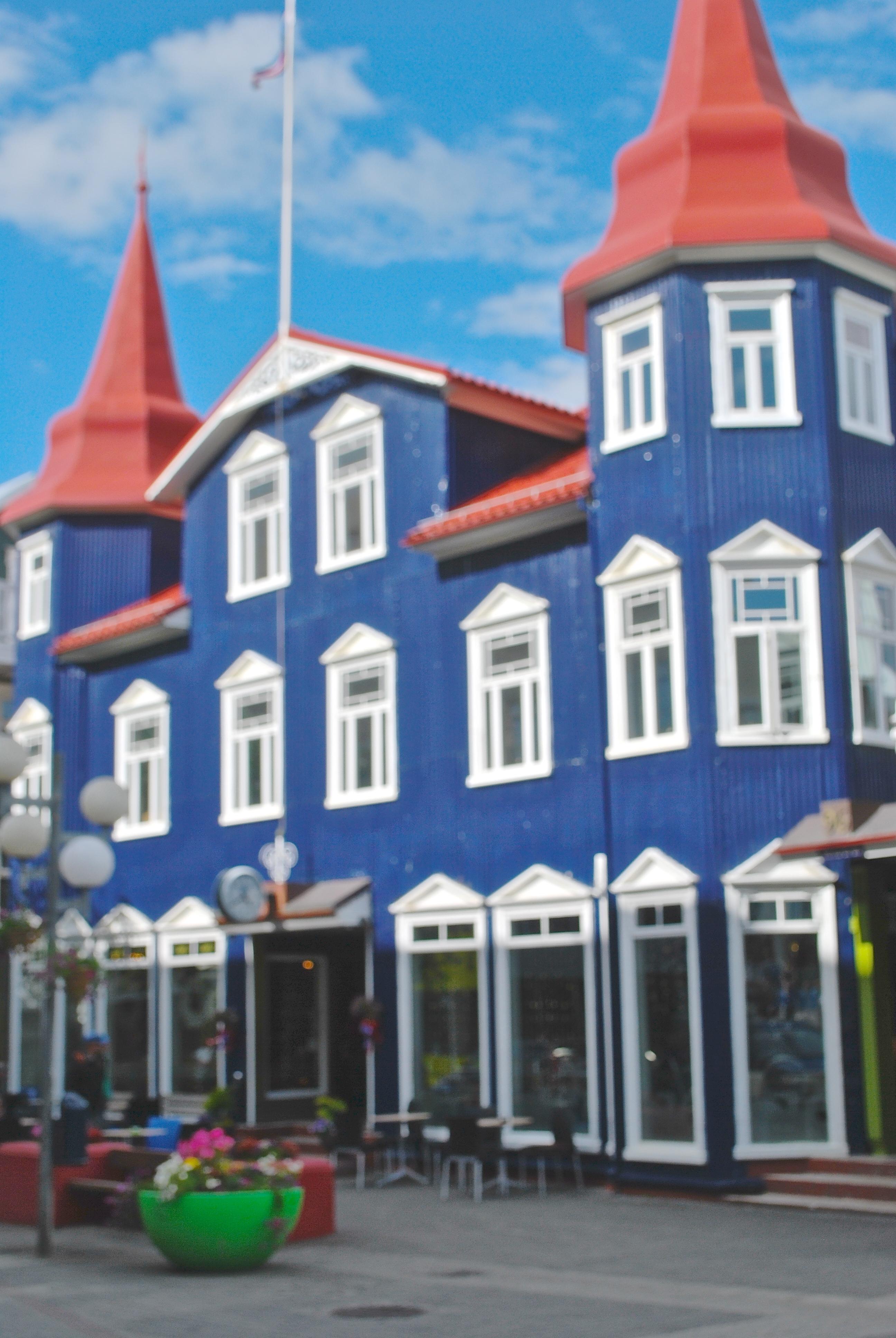 Bláa kannan Bláa kannan coffee house in Akureyri, Iceland