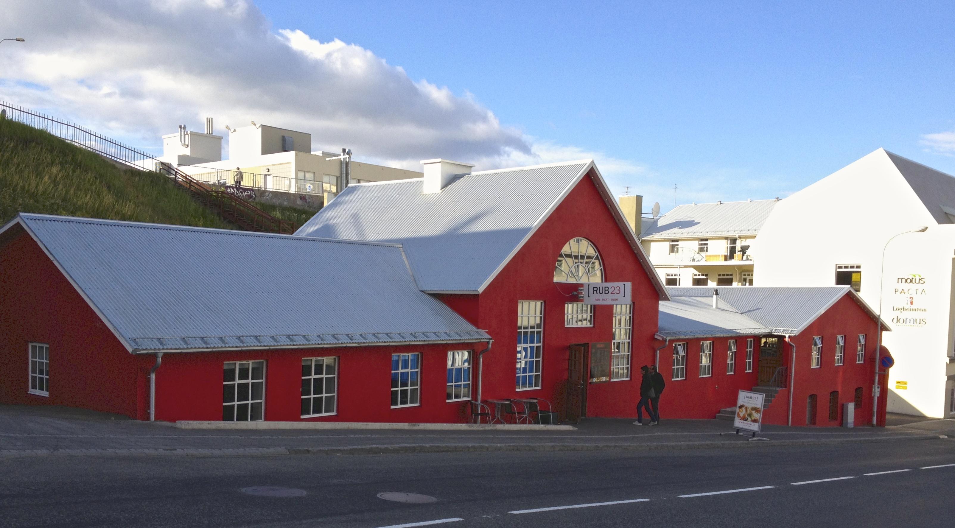 Rub 23 in Akureyri, Iceland