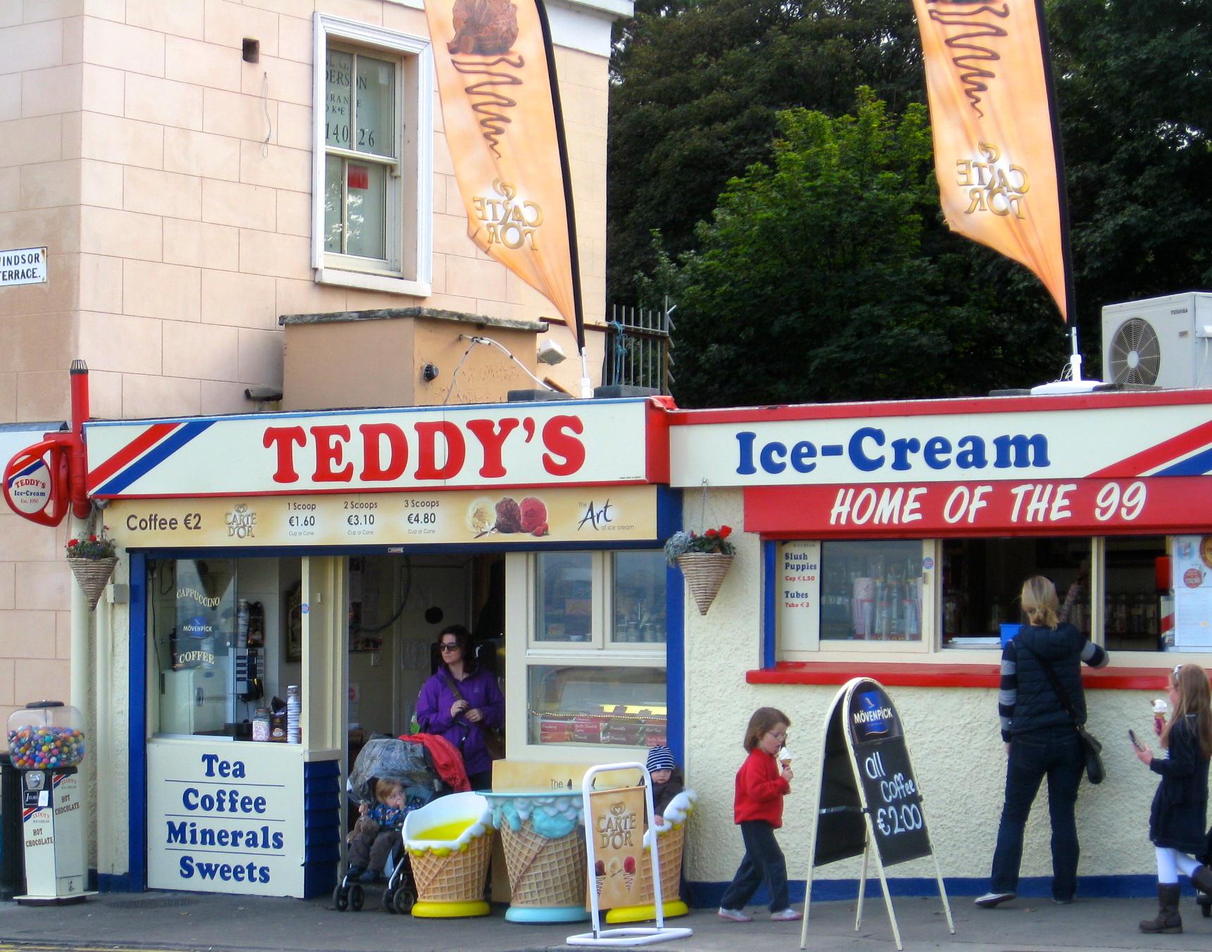Teddy's Ice Cream, Ireland