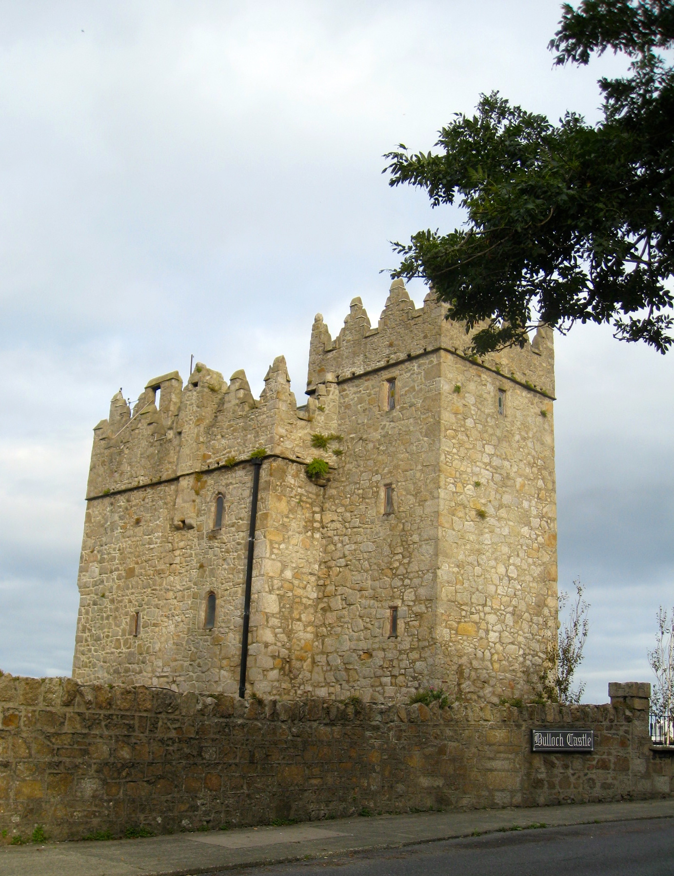 Bulloch Castle outside Dalkey