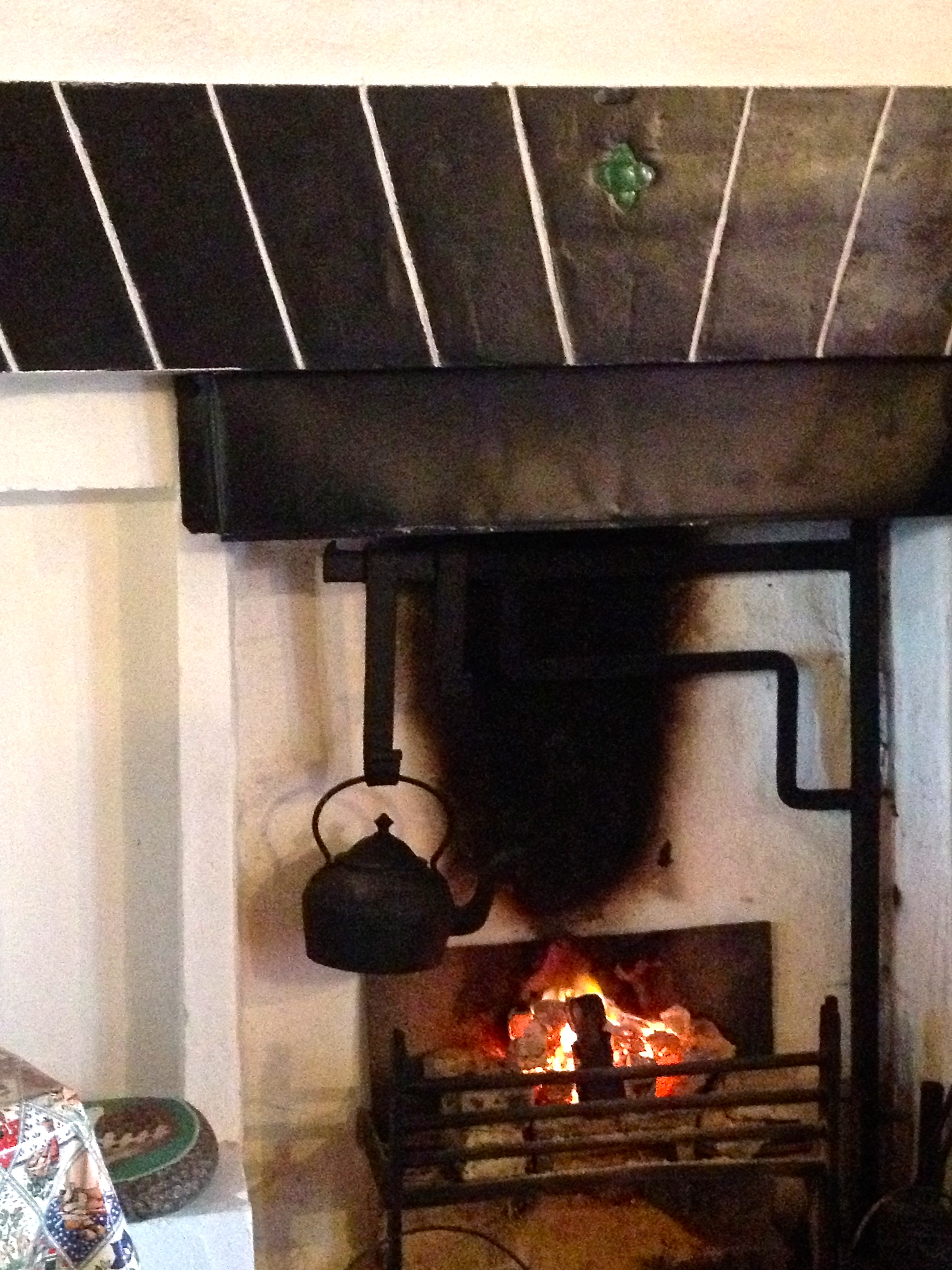 Irish cooking fireplace
