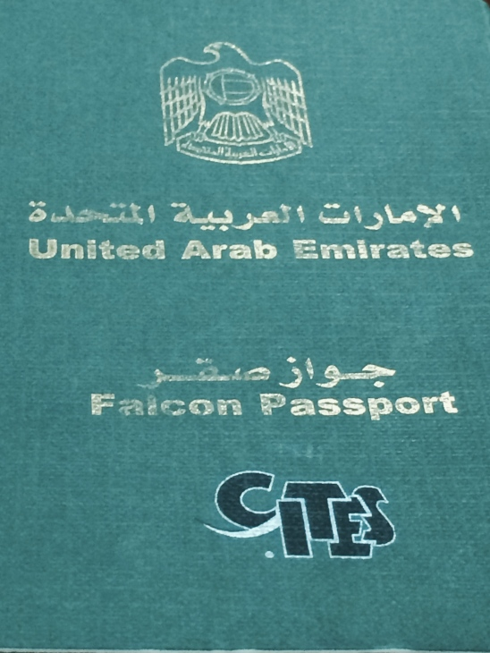 Falcon passport