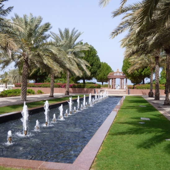 just one small area on the grounds of the Emirates Palace