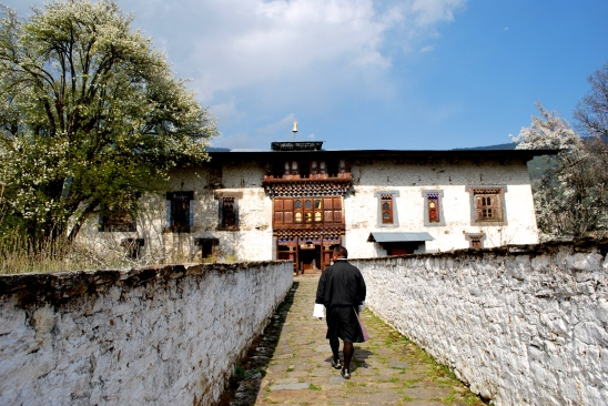 The Second King of Bhutan's palace and Dzong